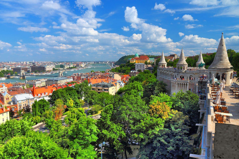 Budapest – Fishermans Bastion panorama