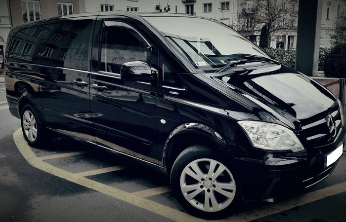 Private Mercedes Minibus Airport pick-up