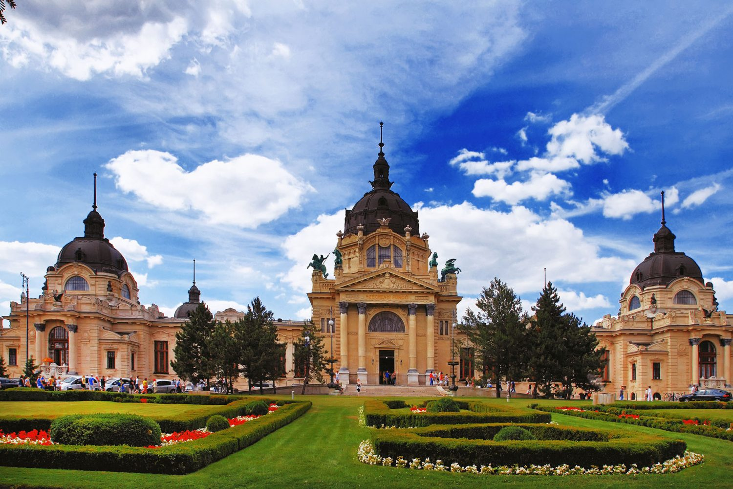 Budapest private city tour Szechenyi Bath